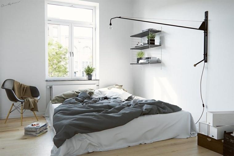 Decoracion estilo nordico luz textura y naturaleza - Dormitorios estilo nordico ...