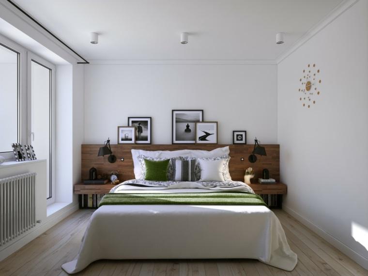 dormitorios blancos diseno contemporaneo opciones ideas