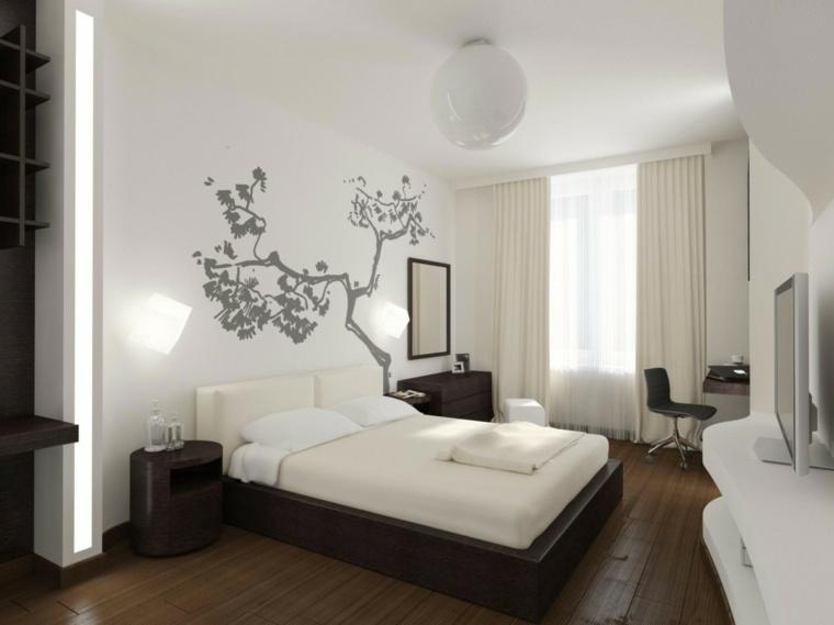 dormitorios blancos diseno moderno ithaka ideas