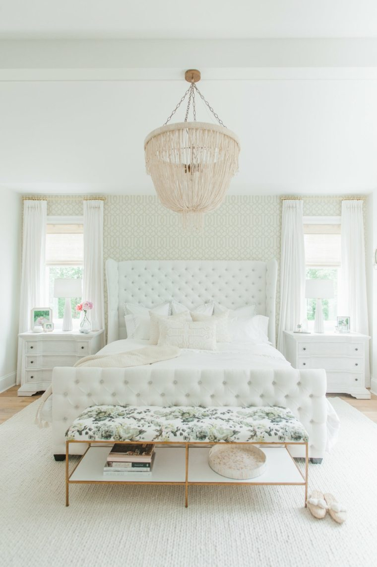 dormitorios blancos plantas diseno original ideas