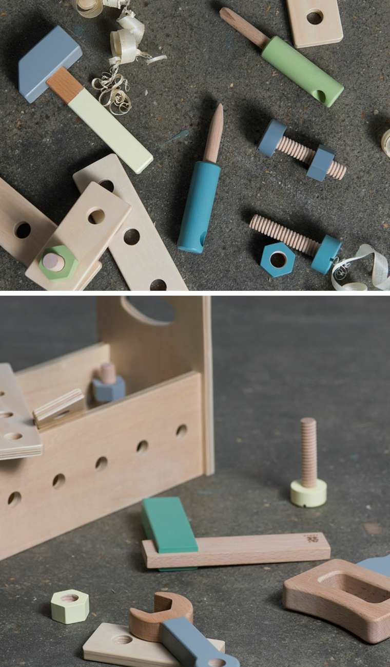 diseno herramientas juguetes modernos