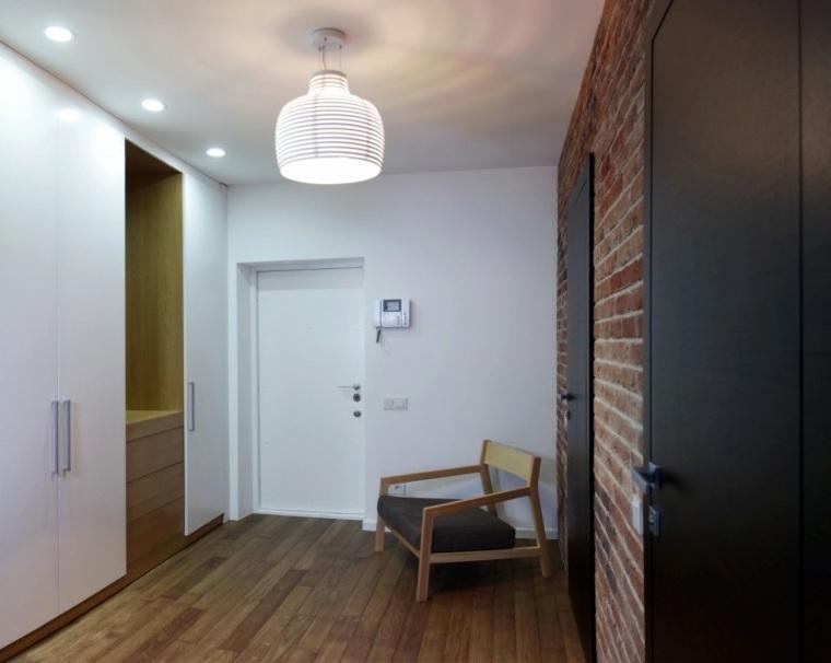 entrada apartamento diseno lugerin architects ideas
