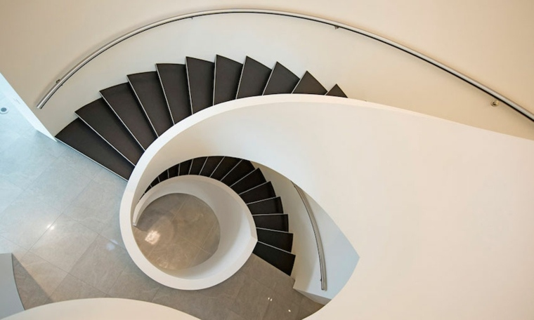 Escaleras De Caracol Modernas M 225 S De 24 Dise 241 Os