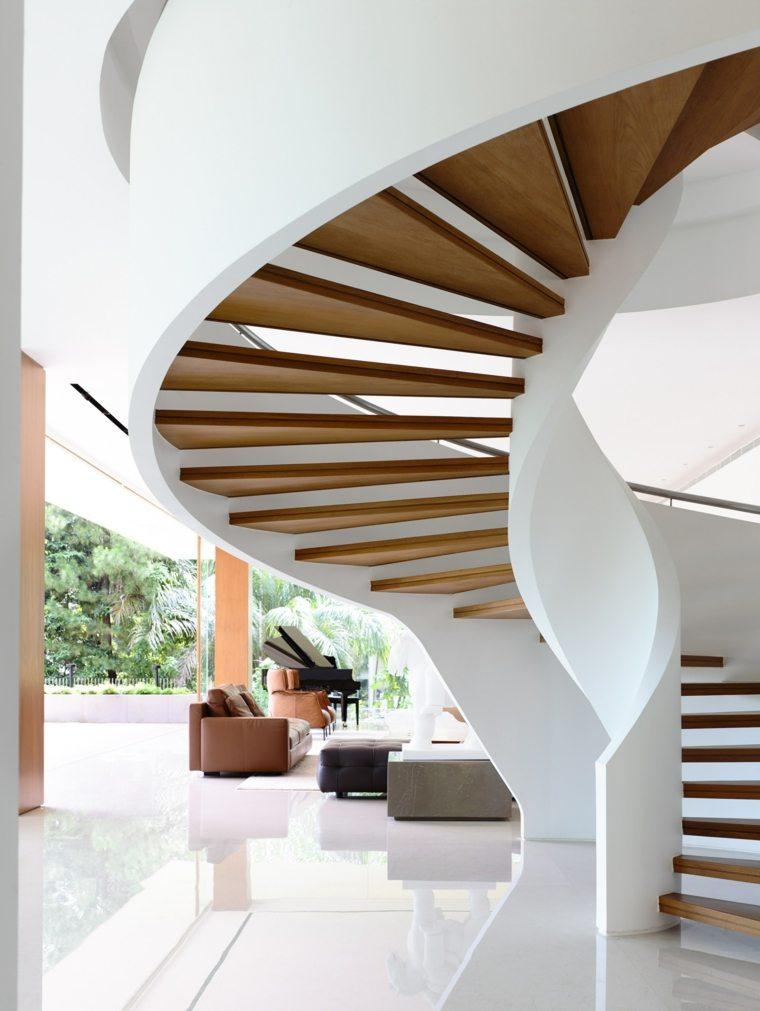 Escaleras de caracol modernas 24 dise os alucinantes - Diseno de escaleras ...