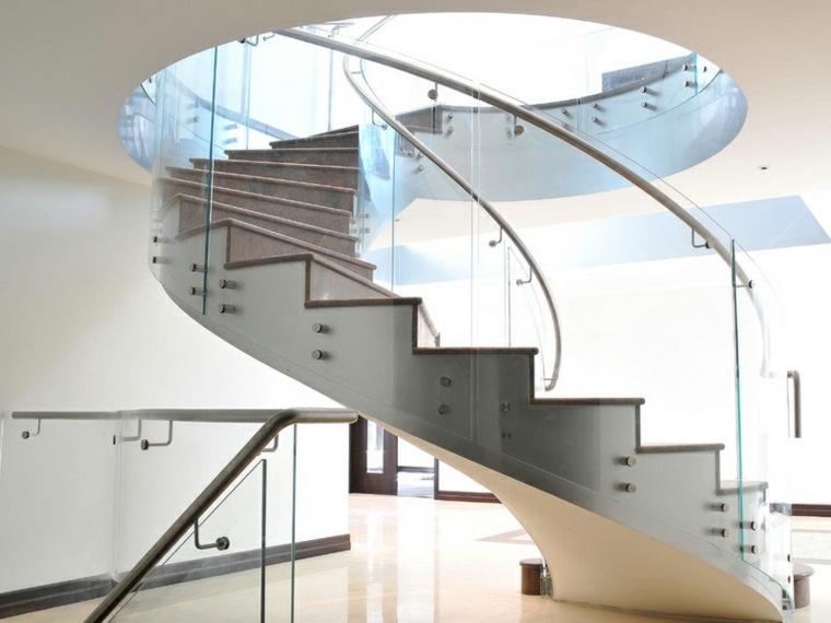 originales escaleras de caracol modernas