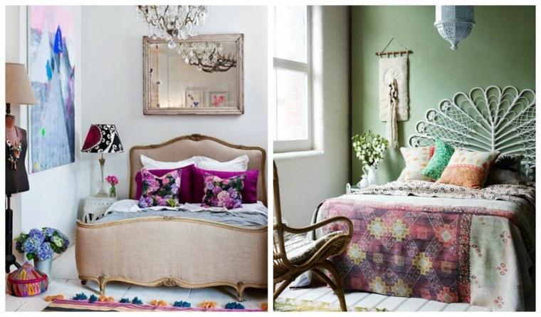 estilo bohemio chic habitación