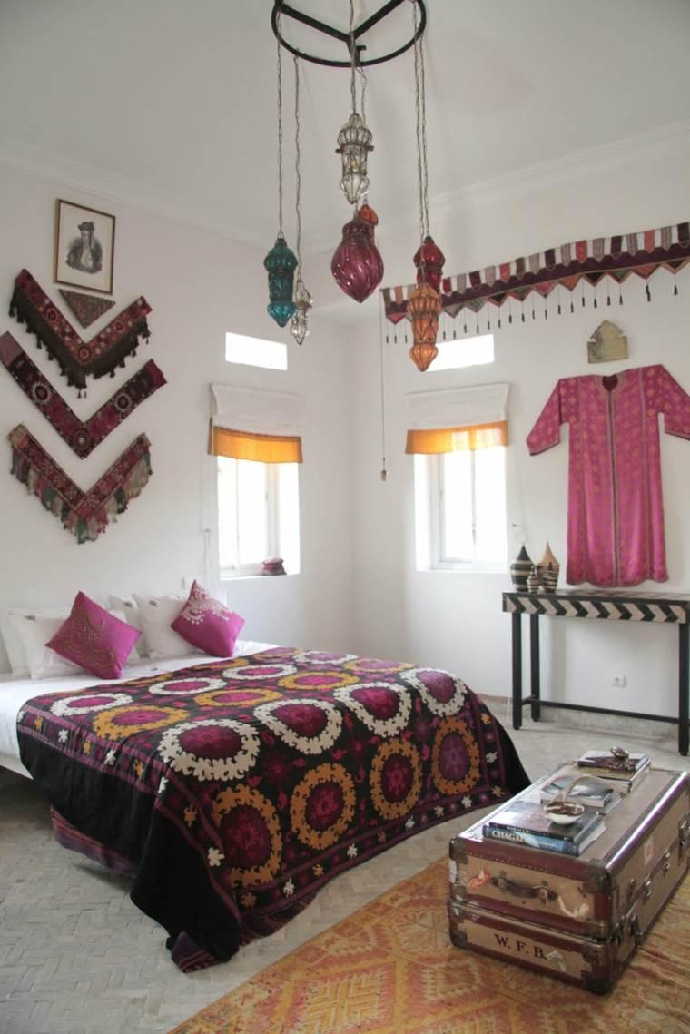 estilo boho chic habitación