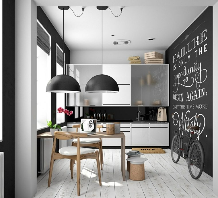 estilo escandinavo cocinas diseno apartamento pequeno ideas
