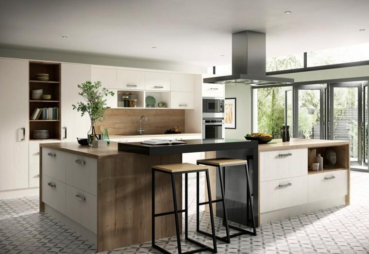 estilo escandinavo cocinas diseno espacios muy amplios ideas