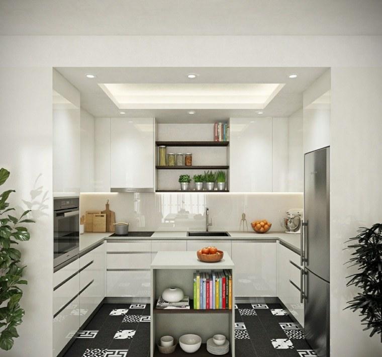 estilo escandinavo cocinas diseno espacios pequenos ideas