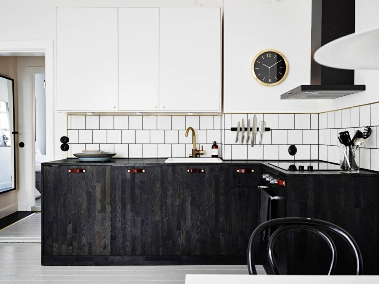 estilo escandinavo cocinas diseno madera reciclada gabinetes ideas