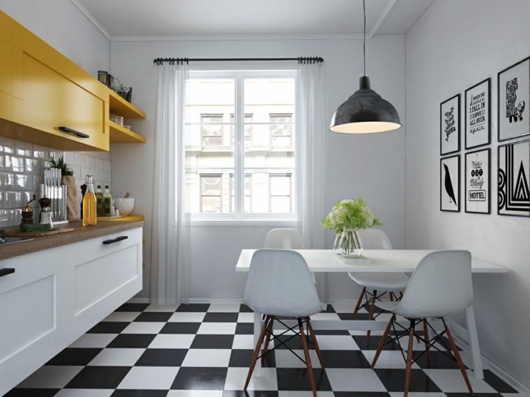 estilo escandinavo cocinas diseno muebles originales ideas