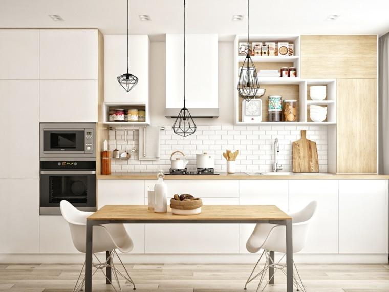 Estilo escandinavo - ideas fotos e inspiración para la cocina -