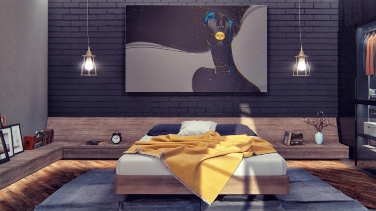 estupendo diseño habitación moderna