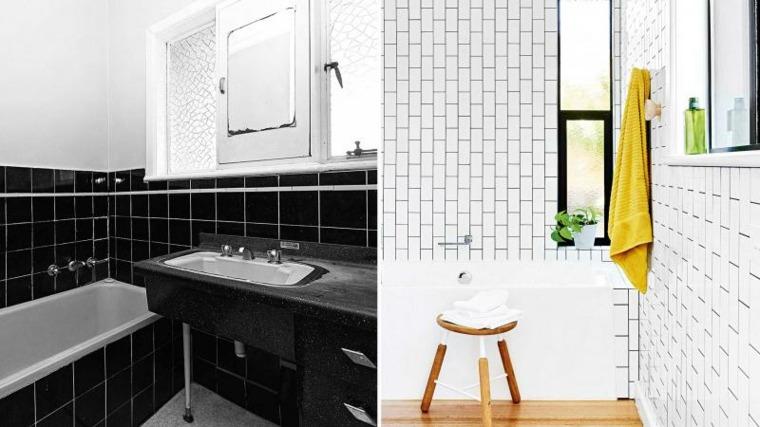 estupendos diseños baños modernos