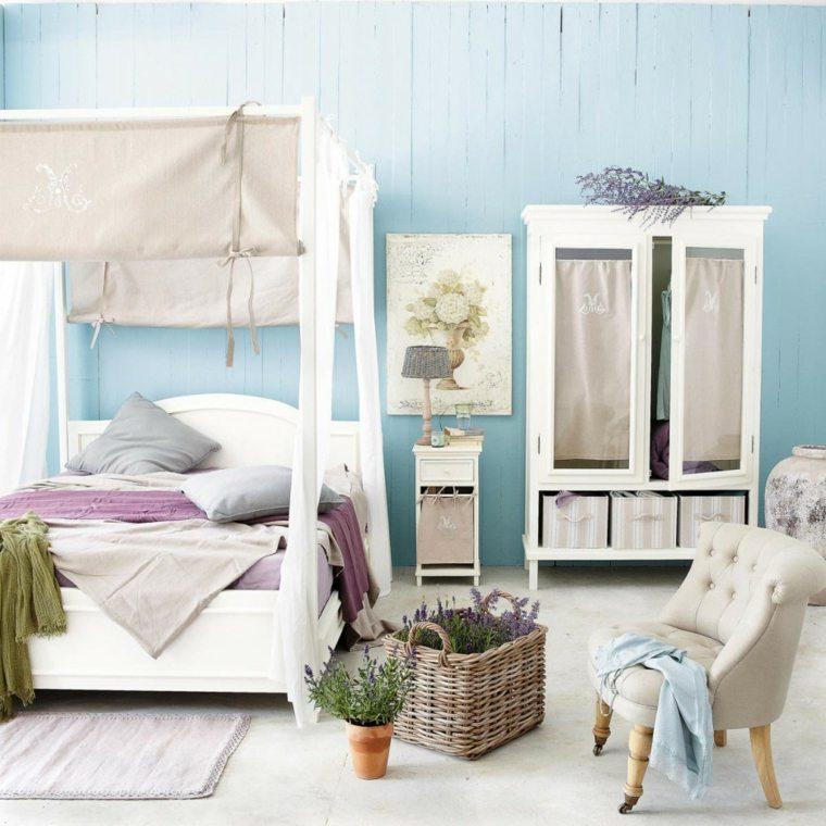 habitaciones en blanco bohemias