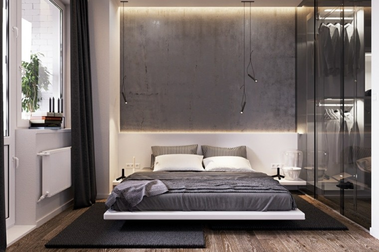 habitaciones grises de Kyde Architects