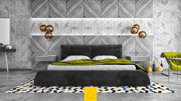 habitaciones grises Penint Design Studio