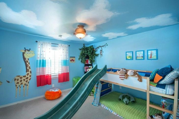 habitaciones infantiles ideas zonas juego camas