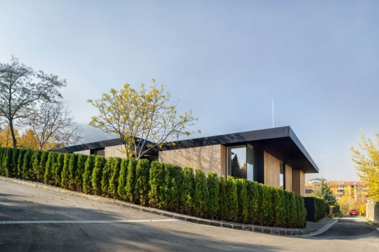 hogar estilo moderno fachada casa