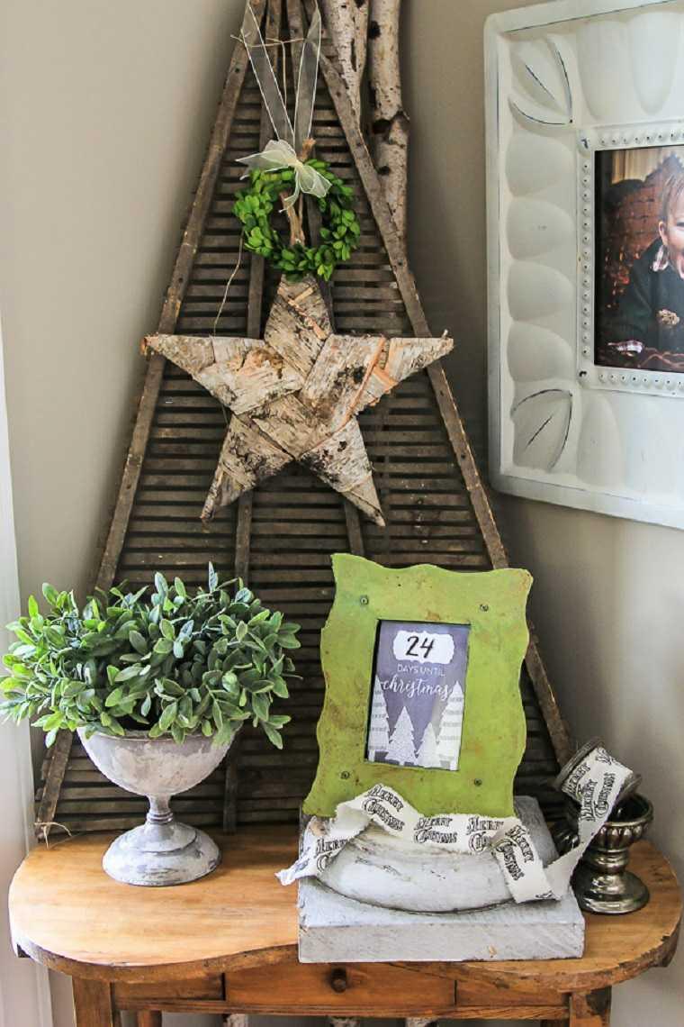 ideas-decoracion-navidad-arbol-madera-original