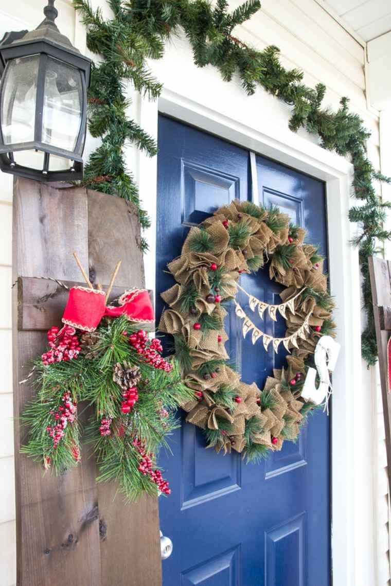 ideas-decoracion-navidad-entrada-moderna