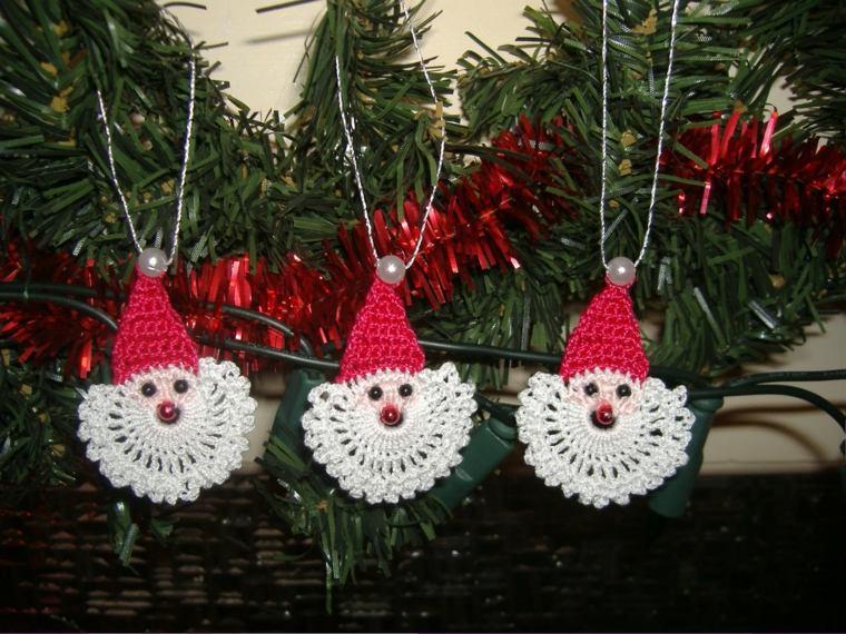 ideas decoracion navidad papa noel hecho mano opciones