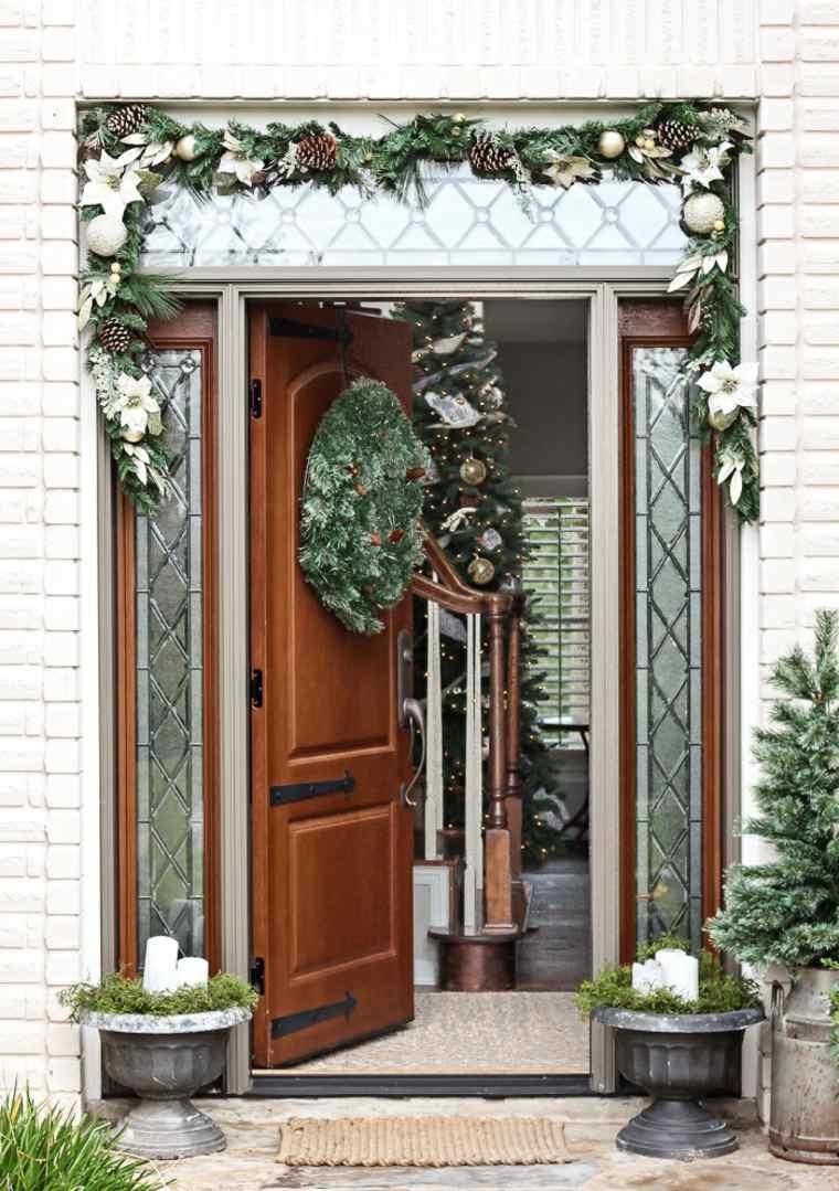 ideas decoracion navidad porche opciones moderno