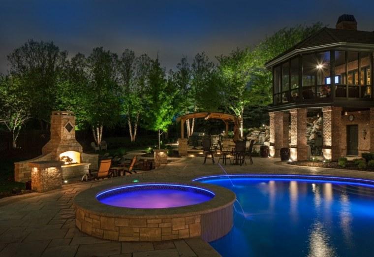 luxurious garden led lighting