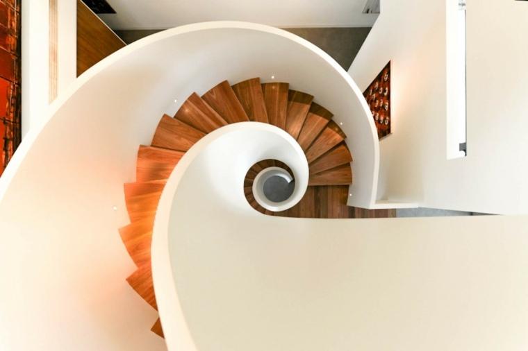 diseo escalera caracol moderna