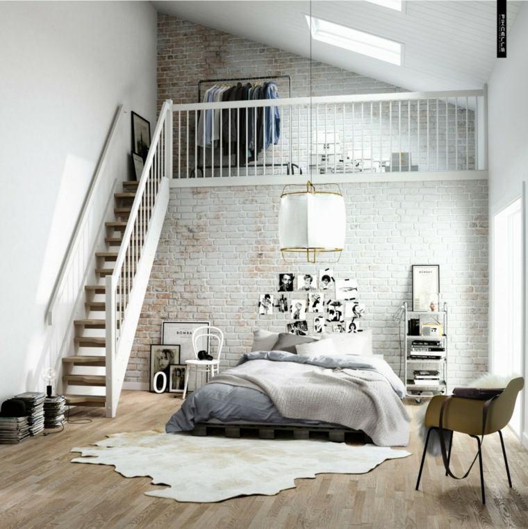 impresionante diseño dormitorio nordico