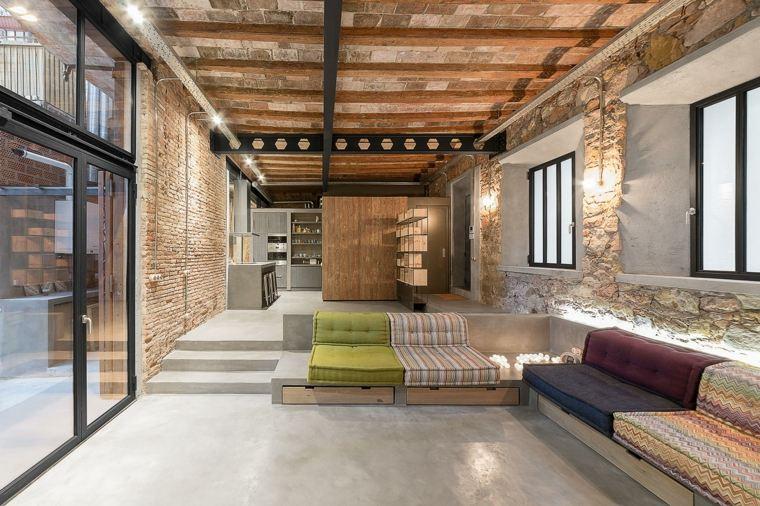 interior moderno loft industrial