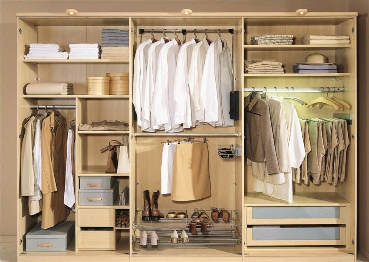 Interiores de armarios para hombres y mujeres - Organizacion armarios ...