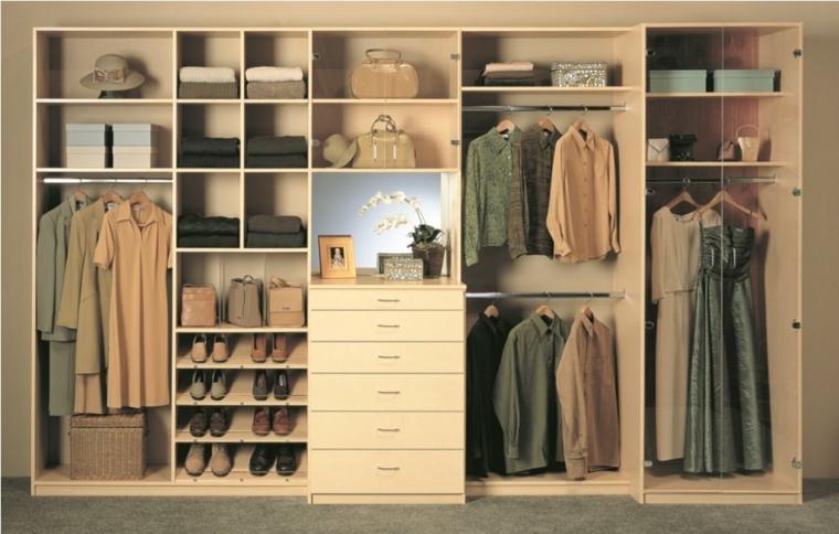 Interiores de armarios para hombres y mujeres for Interior de armarios ikea