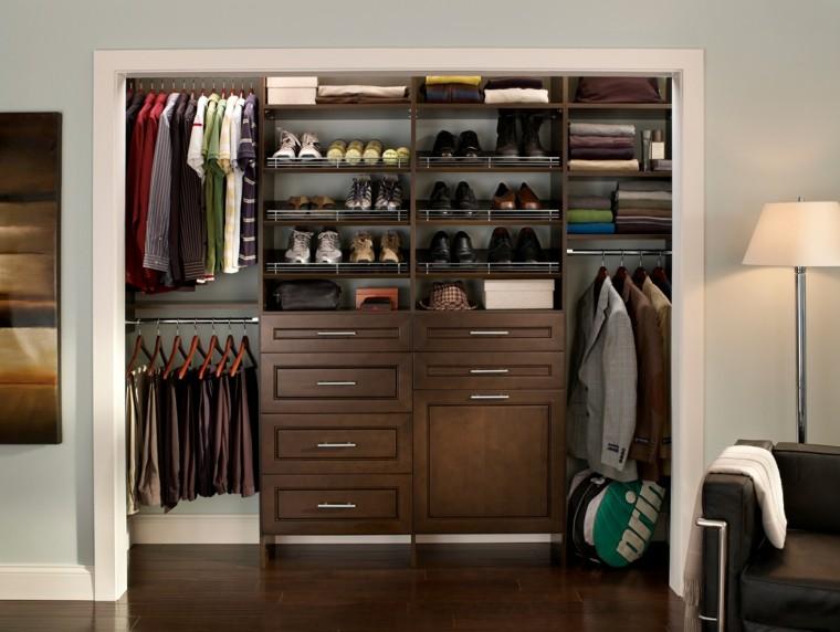 interiores de armarios masculinos
