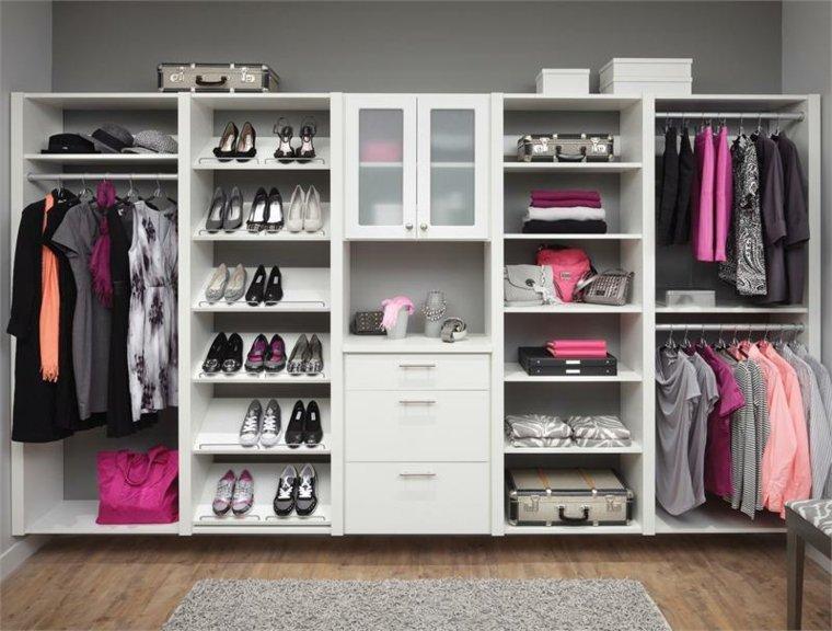 Interiores de armarios para hombres y mujeres for Closet modernos para hombres