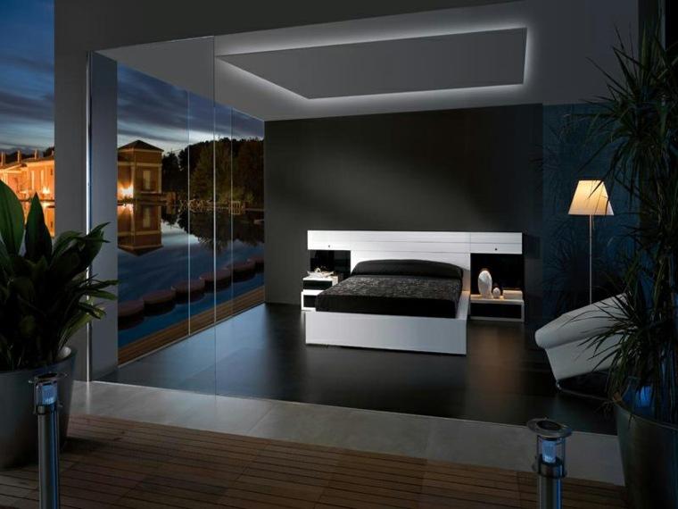 Interiores de dise o de color negro - Simulador diseno de interiores ...