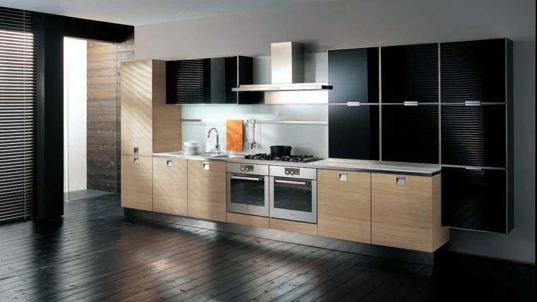 interiores modernos negros