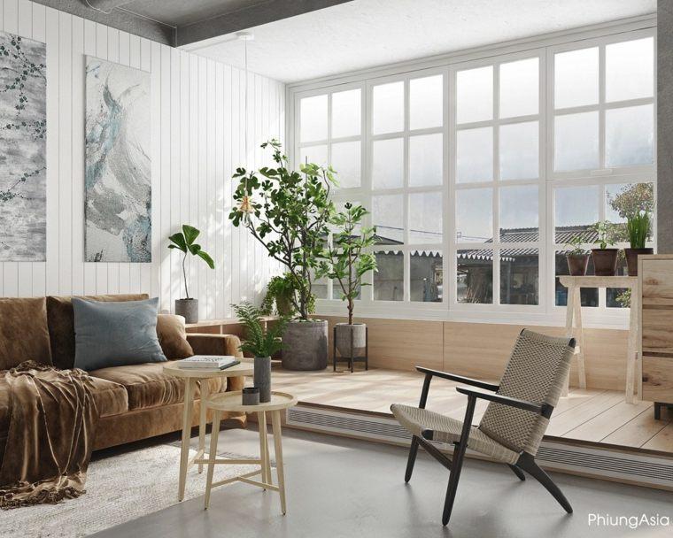interiorismo asia colores efectos sillas