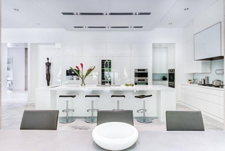 isla cocina blanca Revelateur Studio
