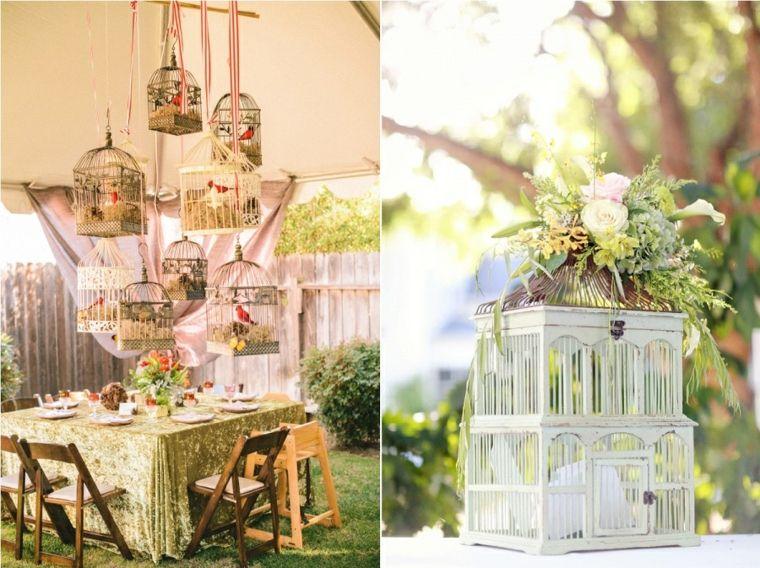 jaulas de decoración bodas