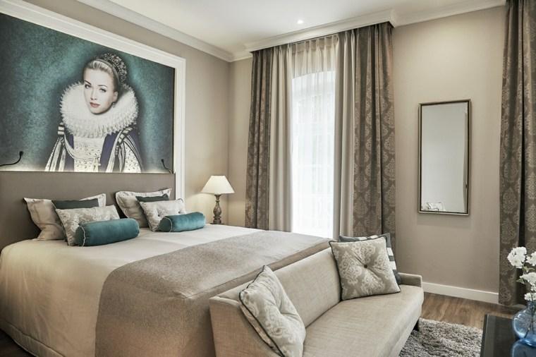 Tipos de cortinas soluciones originales para la ventana - Cortinas originales para dormitorio ...