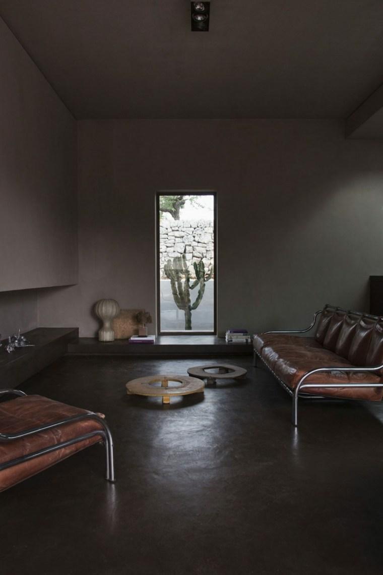 la casa grande espacios luca zanaroli salon ideas