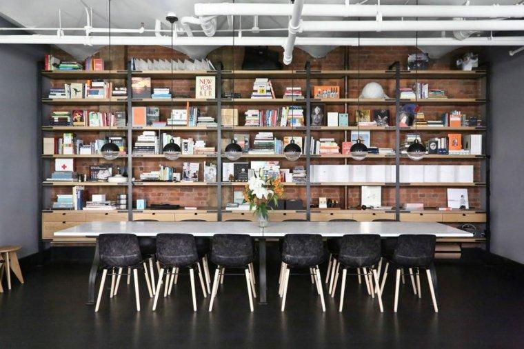 la fabrica estantes abiertos muebles lineas