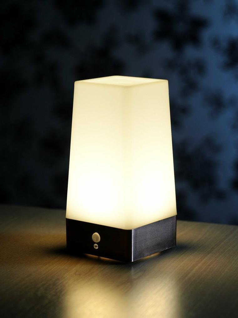 lámpara sin cables