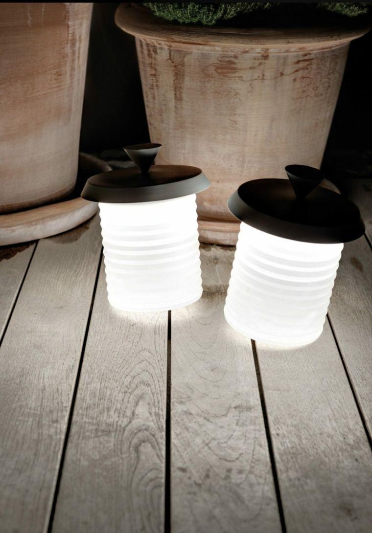 lámparas inalámbricas decoración interior