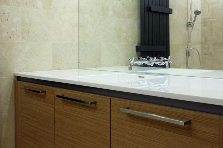 lavabo bano apartamento diseno lugerin architects ideas