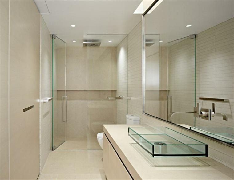 Lavabos de cristal para unos baños elegantes -