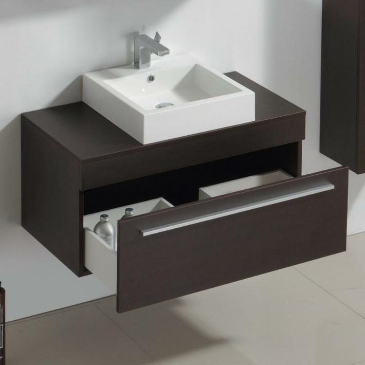 Lavabos peque os modernos y los tipos para una selecci n - Lavabos con muebles ...