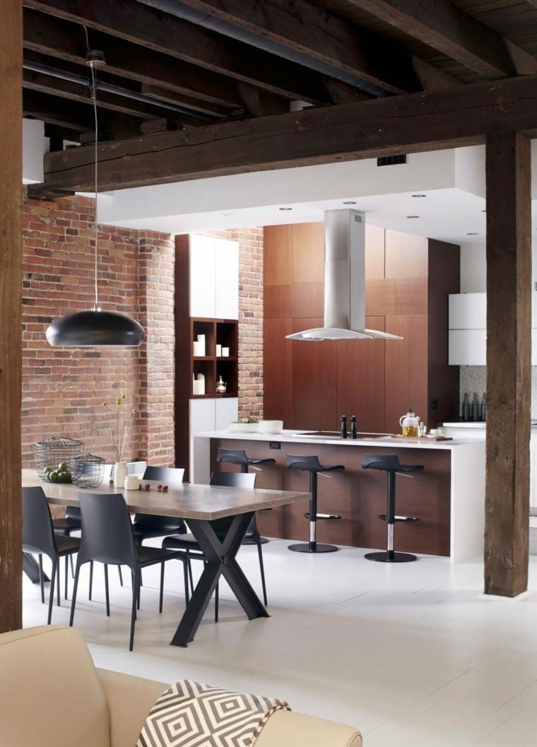loft montreal canada manon belanger cocina comedor ideas
